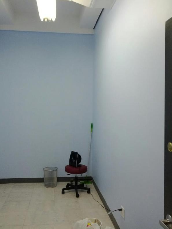 Painted office!